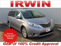 TOYOTA CERTIFIED! LOW MILES! LEATHER! HEATED SEATS! DVD