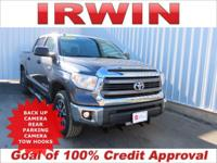 4WD! TOYOTA CERTIFIED! TRD OFF ROAD PACKAGE! SR5