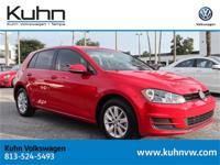 **VW CERTIFIED 2015 GOLF 4-DOOR AUTOMATIC W/ LEATHER,