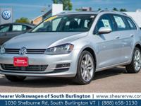 CARFAX 1-Owner! This 2015 Volkswagen Golf SportWagen