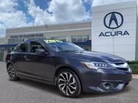 Used Certified 2016 Acura ILX 2.4L. Bluetooth, No