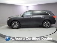 Certified. 2016 Acura MDX 3.5L CARFAX One-Owner.