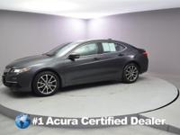 Certified. 2016 Acura TLX 3.5L V6 CARFAX One-Owner.