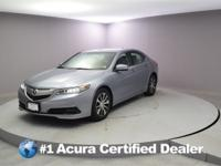 Certified. 2016 Acura TLX 2.4L CARFAX One-Owner. Priced
