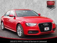 Misano Red Pearl Effect 2016 Audi A4 2.0T Premium Plus
