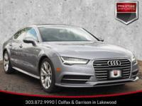 Tornado Gray Metallic 2016 Audi A7 3.0T Premium Plus