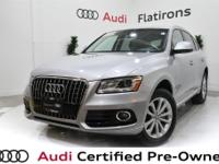 CARFAX 1-Owner, Dealer Inspected, Q5 2.0T Premium