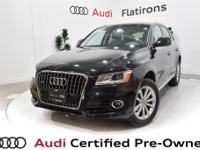 CARFAX 1-Owner, Dealer Inspected, Q5 2.0T Premium Plus