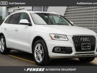 AUDI CERTIFIED, INCLUDES WARRANTY, QUATTRO, BANG AND