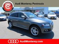 Audi Certified Pre-Owned2016 Audi Q5 Daytona Gray Pearl