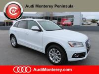 Audi Certified Pre-Owned2016 Audi Q5 Glacier White