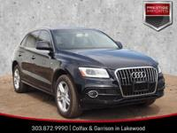 Mythos Black Metallic 2016 Audi Q5 3.0T Premium Plus