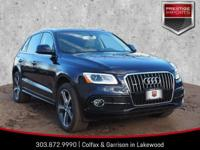 Moonlight Blue Metallic 2016 Audi Q5 3.0T Premium Plus