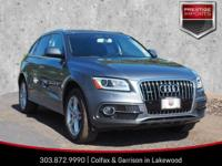 Monsoon Gray Metallic 2016 Audi Q5 3.0T Premium Plus