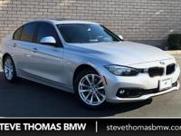 BMW Certified, ONLY 35,941 Miles! EPA 36 MPG Hwy/24 MPG