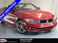 This Certified Pre-Owned 2016 BMW 435i has a Clean