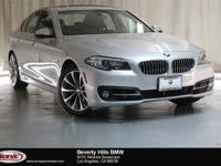 This Certified Pre-Owned 2016 BMW 528i is a One Owner