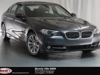 This Certified Pre-Owned 2016 BMW 528iMineral Gray