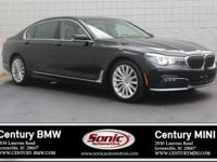 * BMW Certified Pre-Owned * This 2016 BMW 740i is Black
