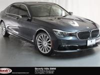 This Certified Pre-Owned 2016 BMW 740i is a One Owner
