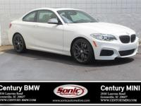 * BMW Certified Pre-Owned * This 2016 BMW M235i is