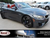 Delivers 26 Highway MPG and 17 City MPG! This BMW M4