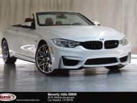 This 2016 BMW M4 Convertible is a One Owner vehicle,