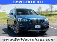 Certified. *** WOW *** THIS 2016 BMW X1 XLINE HAS ONLY