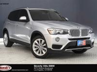 This 2016 BMW X3 sDrive28i has a Clean Carfax, Glacier