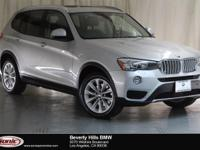 This Certified Pre-Owned 2016 BMW X3 xDrive28i has a