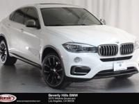 This Certified Pre-Owned 2016 BMW X6 sDrive35i is a One