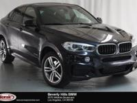This Certified Pre-Owned 2016 BMW X6 xDrive35i is a One