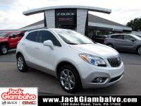 Certified. White Pearl Metallic 2016 Buick Encore