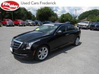 2016 Black Raven Cadillac ATS 8-Speed Automatic