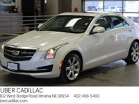 CADILLAC CERTIFIED!! CRYSTAL WHITE TRICOAT PAINT