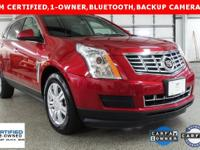 CARFAX One-Owner. Clean CARFAX. Certified. Crystal Red