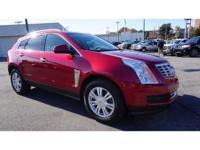 Certified. Crystal Red Tint 2016 Cadillac SRX Luxury