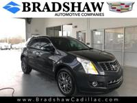 Graphite Metallic 2016 Cadillac SRX Performance KBB