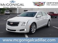 2016 Cadillac XTS Luxury Crystal WhiteCARFAX One-Owner.