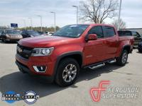 Colorado Z71, 3.6L V6 DGI DOHC VVT, 4WD, red rock