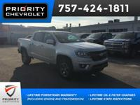 2016 Chevrolet Z71 Colorado Silver Ice Metallic