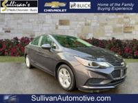 2016 Chevrolet Cruze LT GM CERTIFIED, ONE OWNER, BACKUP
