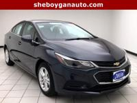 Blue Ray Metallic 2016 Chevrolet Cruze LT One Owner,