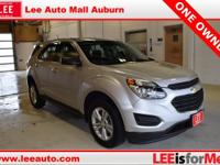 2016 Chevrolet Equinox LS Silver Ice Metallic