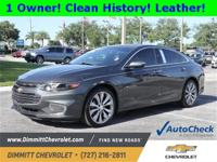 Clean Autocheck, One Owner, Backup Camera, Bluetooth,
