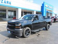Black Package! 20 Inch Wheels, Remote Start, Silverado