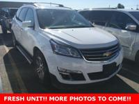 CARFAX One-Owner. Clean CARFAX. Certified. Traverse 2LT