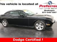1 Owner Challenger with Accident Free Autocheck History