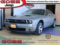 Billet Clearcoat 2016 Dodge Challenger SXT Plus, RWD,