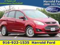 Ruby Red 2016 Ford C-Max Energi SEL w/ Navigation